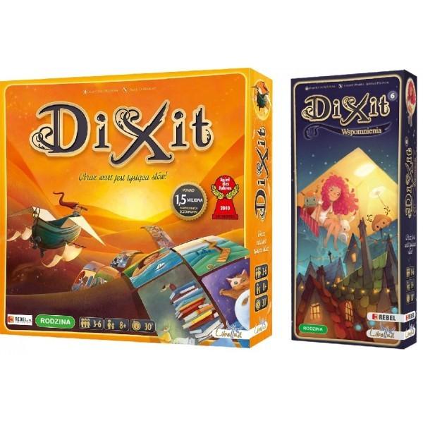 DIXIT + DIXIT 6 WSPOMNIENIA ZESTAW