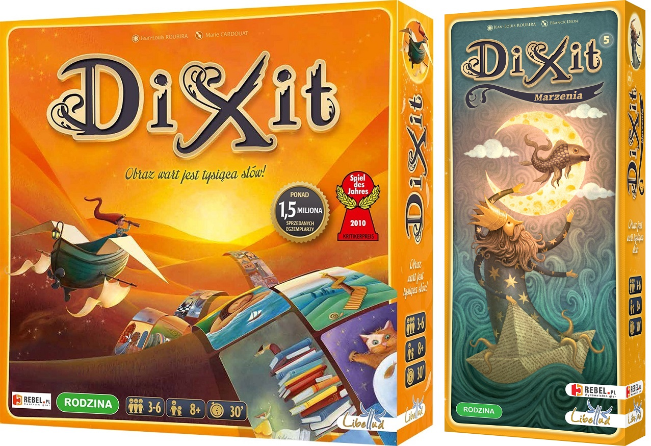 DIXIT + DIXIT 5 MARZENIA ZESTAW