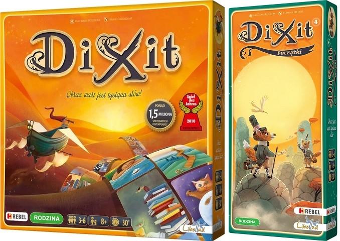DIXIT + DIXIT 4 POCZĄTKI ZESTAW