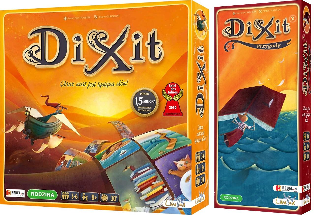DIXIT + DIXIT 2 PRZYGODY ZESTAW