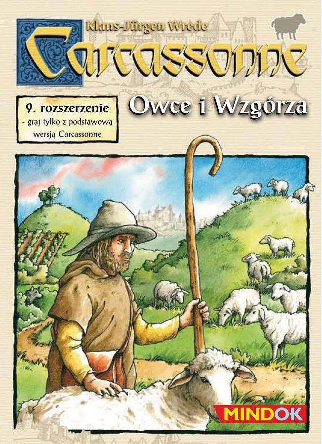 CARCASSONNE - OWCE I WZGÓRZA (1 ed.)