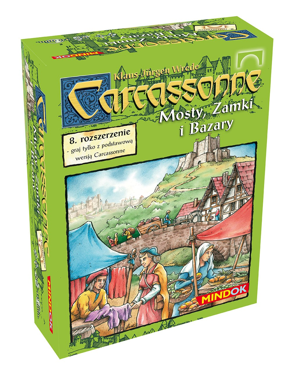 CARCASSONNE MOSTY ZAMKI I BAZARY (1 ed, ROZFOLIOWANA)