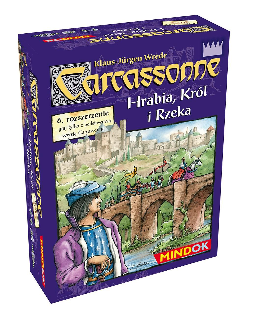 CARCASSONNE HRABIA KRÓL I RZEKA (1 ed.)