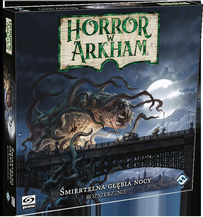 Horror w Arkham: (III edycja) Śmiertelna głębia nocy