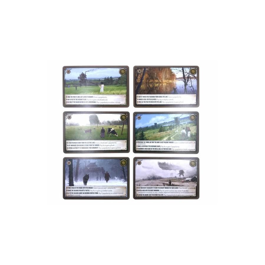 Scythe Karty promocyjne - nowe karty spotkań (37-42)